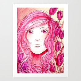 Colour Theme - Pink Art Print