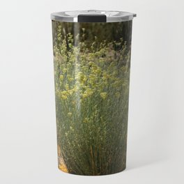 Palo Brea Blossoms Around Desert Milk Weed Travel Mug