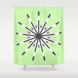 Key Lime Shower Curtain