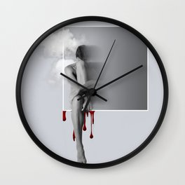 male nude art Wall Clock