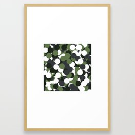 #430 Camouflage – Geometry Daily Framed Art Print