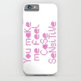 Case Sensitive iPhone Case