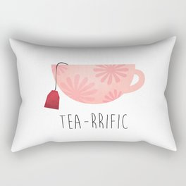 Tea-rrific Rectangular Pillow