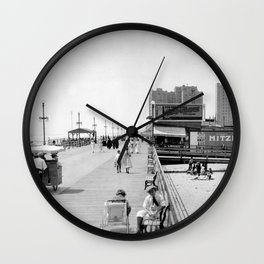Atlantic City Boardwalk 1920, Apollo Theatre, Mitzi Wall Clock