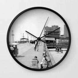 Atlantic City Boardwalk 1920, Apollo Theatre, Mitzi Wall Clock