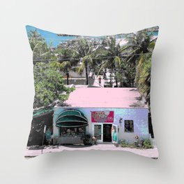 Key West Sunshine Throw Pillow