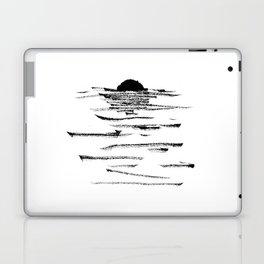 A flaming sunset Laptop & iPad Skin