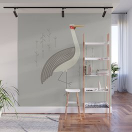Brolga, Bird of Australia Wall Mural