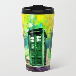 PAINTING TARDIS Travel Mug