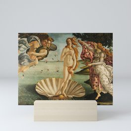The Birth of Venus (Nascita di Venere) by Sandro Botticelli Mini Art Print