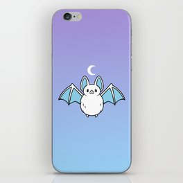 Cute Night Bat iPhone Skin