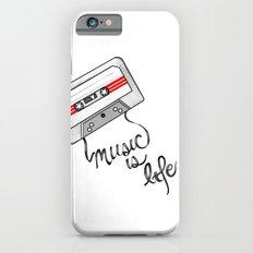 music is life iPhone 6s Slim Case