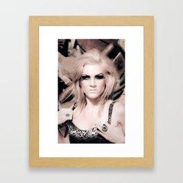 Beautiful Creature Framed Art Print