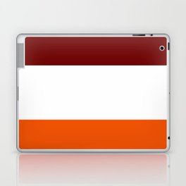 TEAM COLORS 8...Maroon , orange white Laptop & iPad Skin