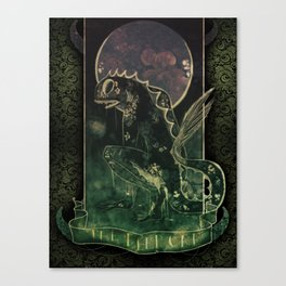 The Deep One Canvas Print