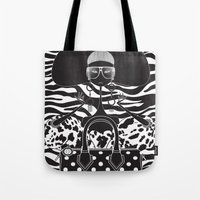 marc Tote Bags featuring Marc Jacobs Close by Leandro Dario