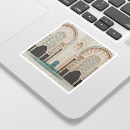 Mosque Hassan II in Casablanca, Morocco Sticker
