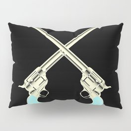 Crossed Guns Pair Pillow Sham