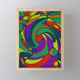Abstract #433 Framed Mini Art Print