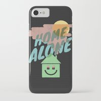home alone iPhone & iPod Cases featuring Home Alone by Nick Nelson