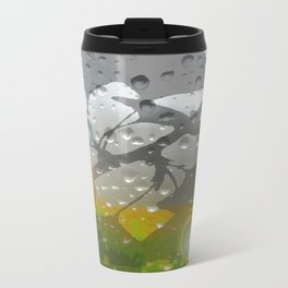 Ginkos in the Rain Travel Mug
