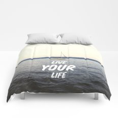Live Your Life Comforters