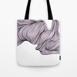 Abstract organic line drawing doodle 4 Tote Bag