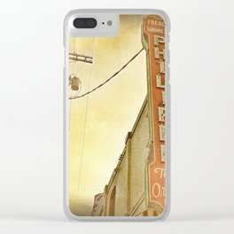 Phillipe's French Dip - Los Angeles, CA Clear iPhone Case