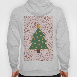 Christmas tree and terrazzo Hoody