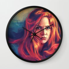 Amy Pond Wall Clock
