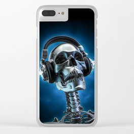 Soul music Clear iPhone Case