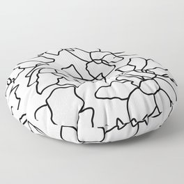Isla #illustration #drawing Floor Pillow