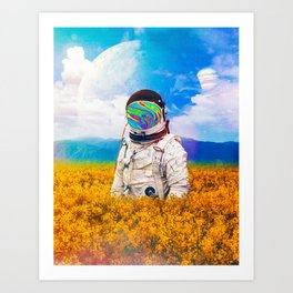 Another Lost Traveller Art Print