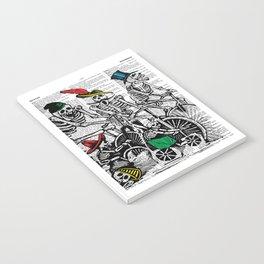 Calavera Cyclists Notebook