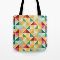 candy Tote Bags featuring Candy by According to Panda