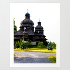 Ukrainian Church Art Print