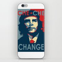 che iPhone & iPod Skins featuring CHE CHE CHANGE by MDRMDRMDR