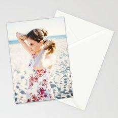 Beach Hair Stationery Cards
