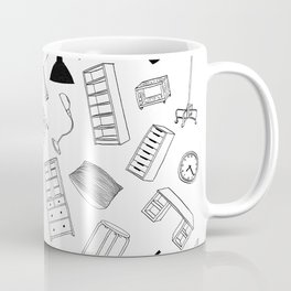 When the apartment floats... Coffee Mug