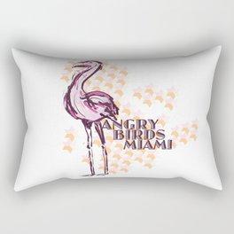 Angry Birds Miami Rectangular Pillow