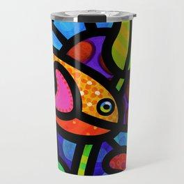 Kaleidoscope Reef Travel Mug