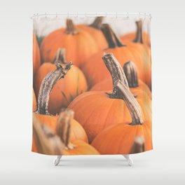 pumpkin season. Shower Curtain