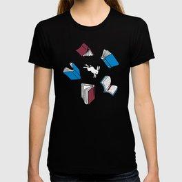 Books: Through the rabbit hole T-shirt