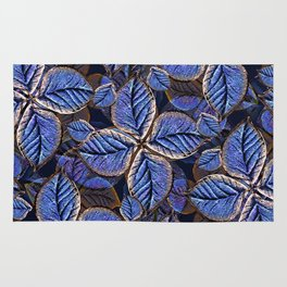Fantasy Nature Pattern Print  Rug