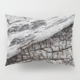 Old Wood - Photography by Fluid Nature Pillow Sham