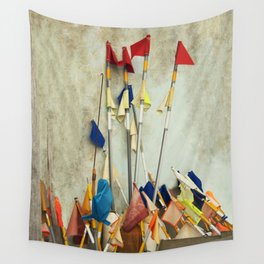 fishing flags Wall Tapestry