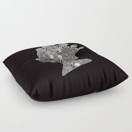 God Save the Queen Floor Pillow