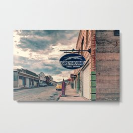 Erie Street (lowell, arizona) Metal Print