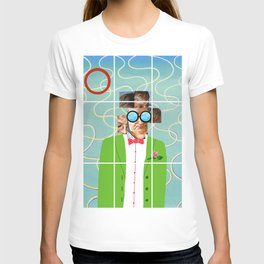 Hockney illustration T-shirt