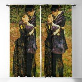 John Everett Millais - A Huguenot (A Huguenot on St Bartholomew's Day) Blackout Curtain